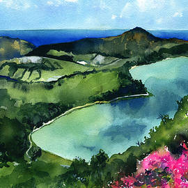 Furnas Lake Azores Portugal by Dora Hathazi Mendes