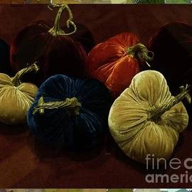 Fuzzy Pumpkins by Barbie Corbett-Newmin