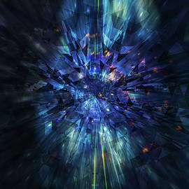 Galactic Crystal by Barry Costa