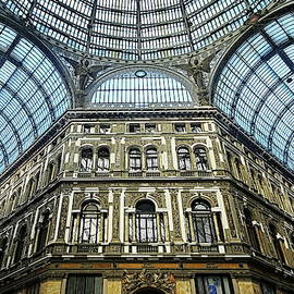 Galleria Umberto in Naples, Italy by Lyuba Filatova