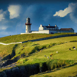 Galley Head Lighthouse Rosacarbery County Cork Ireland - DWP2542 by Dean Wittle