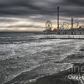 Galveston Winter Sunset by Norman Gabitzsch