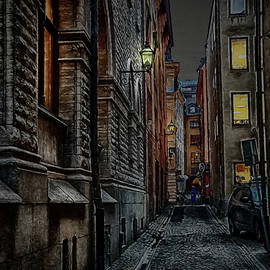 Gamla stan in the night by Ramon Martinez