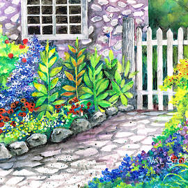 Garden Gate by Val Stokes