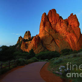 Garden of the Gods Sunrise by Norma Brandsberg