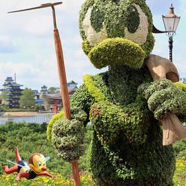 Gardener Donald Bee Keeper by Diann Fisher