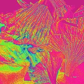 Garlic Peel Digital Colors by VIVA Anderson