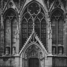 Gated Entrance to Notre Dame, Paris 2016  by Liesl Walsh