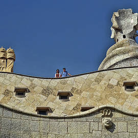 Gaudi's Casa Mila # 2 - Barcelona by Allen Beatty