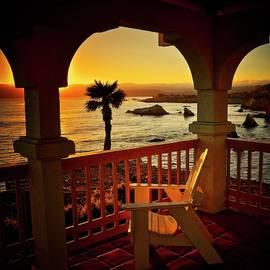 Gazebo View of Central California Coast by Flying Z Photography by Zayne Diamond