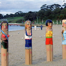 Geelong Bollards #2 by Jerry Griffin