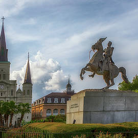General Jackson In Jackson Square by Susan Rissi Tregoning