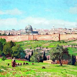 Munir Alawi - Georg Macco Jerusalem 1932