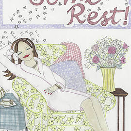 Get Some Rest by Stephanie Hessler