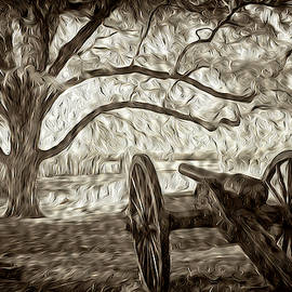 Gettysburg Canon Abstract by Paul W Faust - Impressions of Light