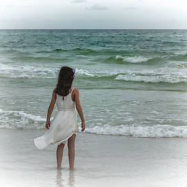 Toes In The Surf by Kay Brewer