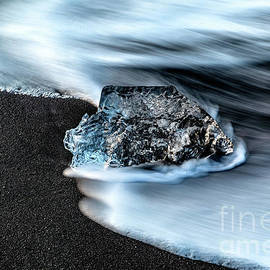 Glacial Beach Ice 9 by Miles Whittingham