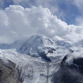 Glacier in Zermatt by Patricia Caron