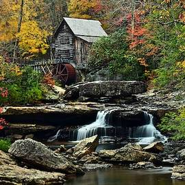 Glade Creek Grist Mill by Frozen in Time Fine Art Photography