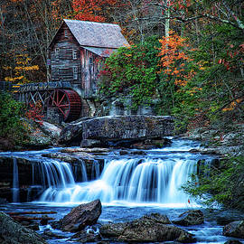 Glade Creek Grist Mill II by Pete Federico