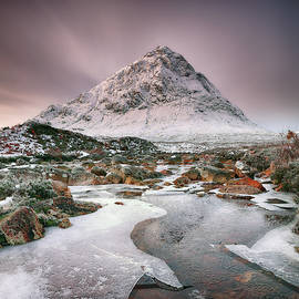 Glencoe Winter - Square by Grant Glendinning