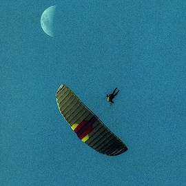 Gliding Under the Moon by S Katz