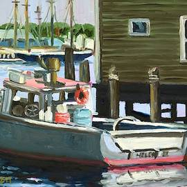 Gloucester Fishing Boat by Eileen Patten Oliver