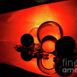 Glowing Balls by Linda Howes