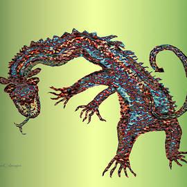Gnarled Beast Dragon 2 by Kae Cheatham