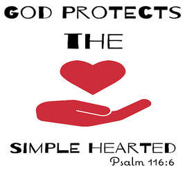 God Protects The Simple Hearted by Joe Lach