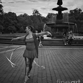 Goddess of the Dance - Central Park New York by Miriam Danar