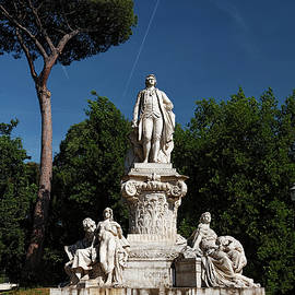 Goethe in Borghese by Sally Weigand