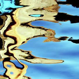 Gold In Motion III by Debbie Oppermann