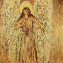 Golden Angel by Dariusz Orszulik
