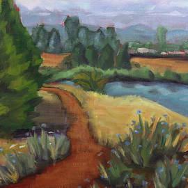 Golden Gardens Trail by Tara D Kemp