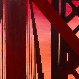 Golden Gate Art Deco Masterpiece by Rene Capone