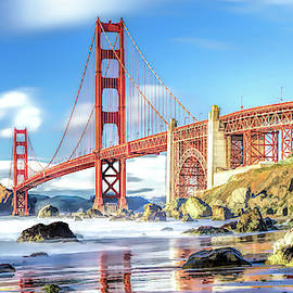 Golden Gate Bridge In San Francisco by Christopher Arndt