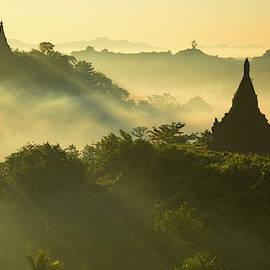 Golden Morning in Myanmar