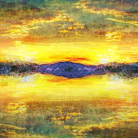 Golden Sunset by Lorraine Baum