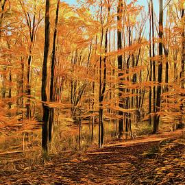 Golden Walk by Dennis Lundell
