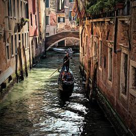 Gondola Tour by Claude LeTien
