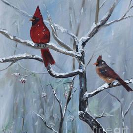 Gone Away  Is The Bluebird - Walking In A Winter Wonderland by Jan Dappen