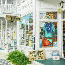 Gone Fishin' In Key West by Mel Steinhauer
