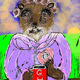 Good Morning Miz Groundhog by Kathy Barney