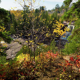 Gooseberry Falls From Above by Whitney Leigh Carlson
