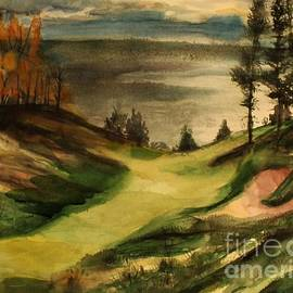 Gorgeous Golfing by Mindy Newman