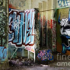 Graffiti Art Urban Exploration 7 by Bob Christopher