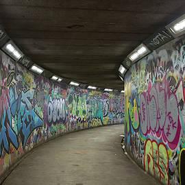 Grafitti Tunnel by Raelene Goddard