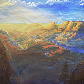Grand Canyon Painting by Chance Kafka