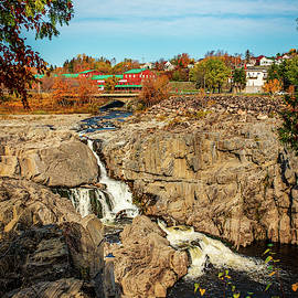 Grand Falls and The Gorge by Yves Gagnon